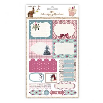 26 christmas stickers scrap coquette