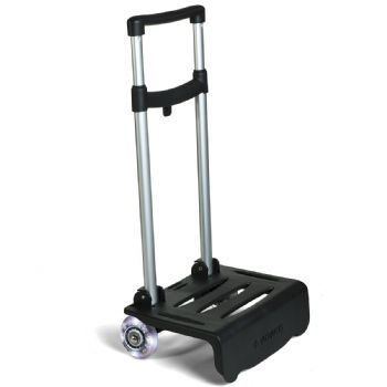 Black lightning cart for backpacks