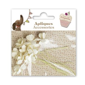 scrapbooking adorns blister flors