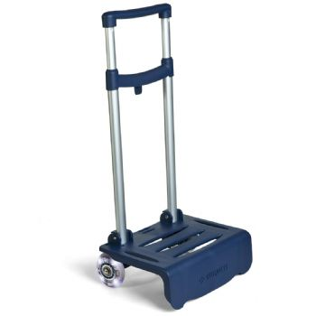 Blue lightning cart