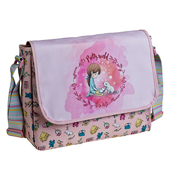 bolsa bandolera pretty world