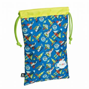 bolsa multiusos nins rocket nins fun & kids