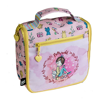 borsa toilette manico pretty world