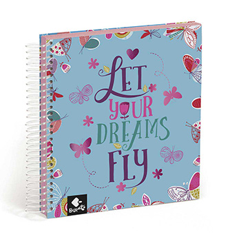 cahier 100 feuilles stickers