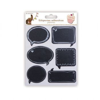 scrapbooking labels cards chalkboard