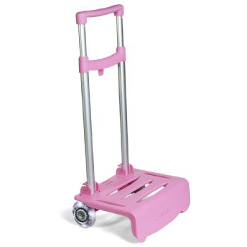 Carrello luminoso rosa
