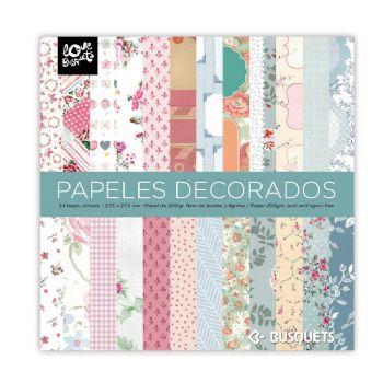 scrapbooking carte decorate carta scrapbook 27 x 27