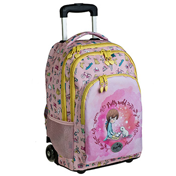 cartable roues pretty world