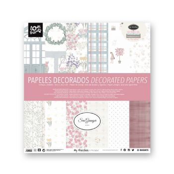 scrapbooking carte decorate carte decorate scrapbooking my garden