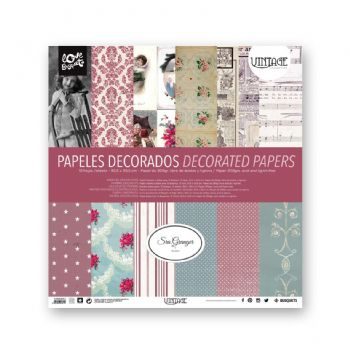scrapbooking carte decorate carte vintage