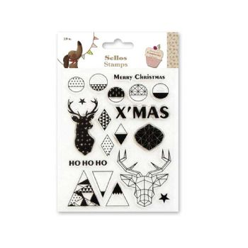 scrapbooking christmas stamps clear stamp