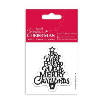 scrapbooking timbres noël clear stamp