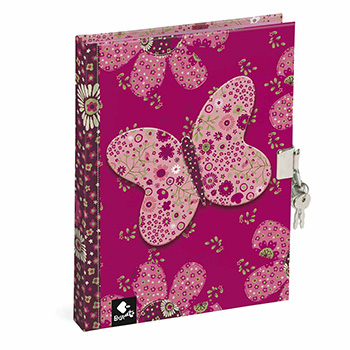diary book patchwork