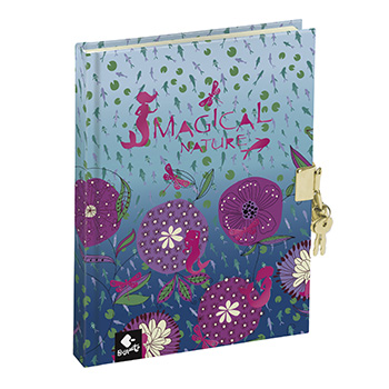 diary book magical nature