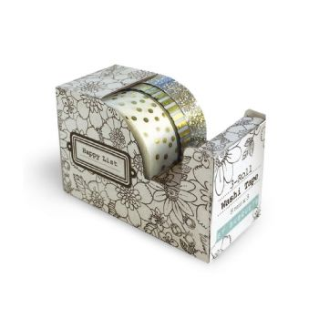scrapbooking washi tapes dispensador washi tape oro