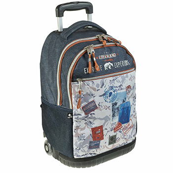 backpacks and accessorise backpack trolleys double backapck trolley