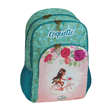 double backpack coquette