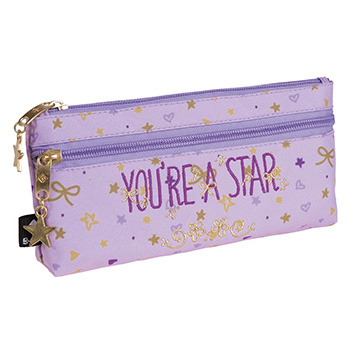 estuche escolar doble star