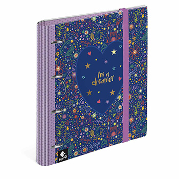 folder ringbinder 4 rings dreamer