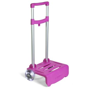 Fuchsia lightning trolley cart