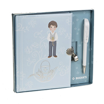 papeterie journals journal de communion stylo