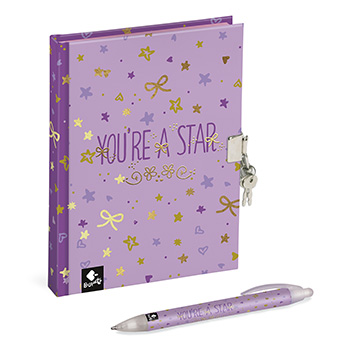 journal intime stylo star