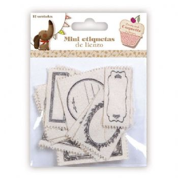 scrapbooking tags mini canvas labels