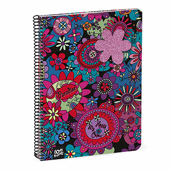 note book a5 squared pages