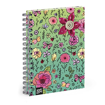 note book wiro gridded