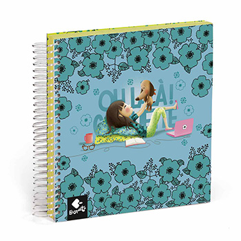 notebook 100 sheets stickers