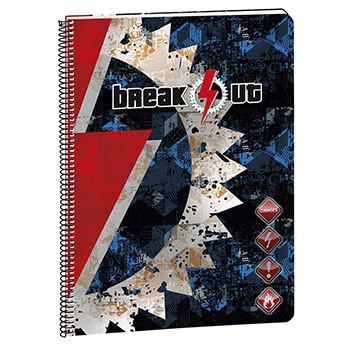 stationery notebooks a4 notebook a4 squared pages