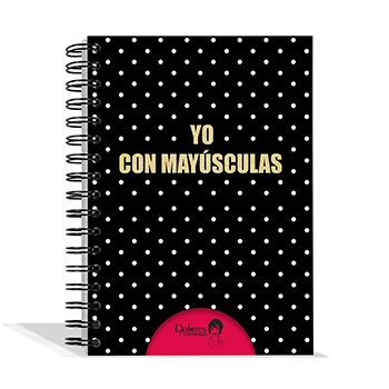 notebook a5 wiro dolores promesas gift