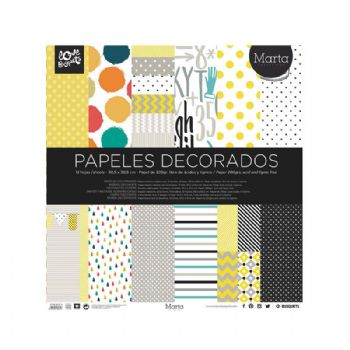 paper decorat marta scrapbook 30,5x30,5 scrap coquette