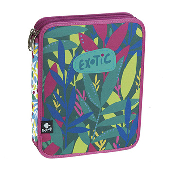 plumier lapices doble exotic