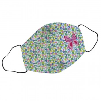 Reusable mask butterfly