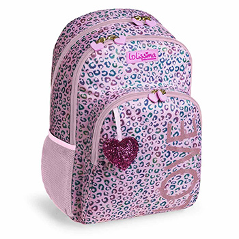 sac a dos scolaire double lolissima