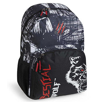 sac a dos scolaire bestial wolf