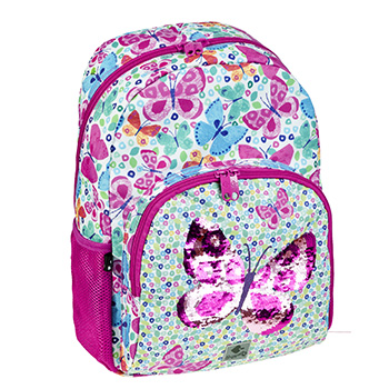 sac a dos scolaire butterfly