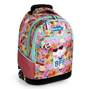 sac a dos scolaire trolley