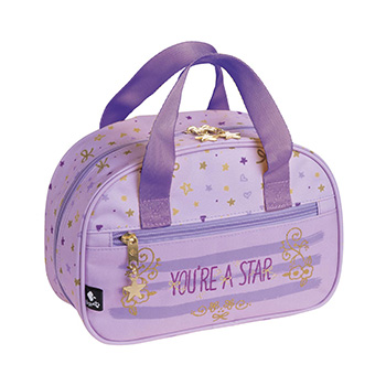 sac toilette garnie star