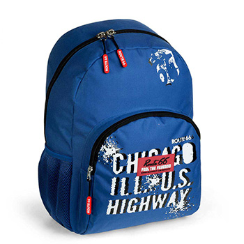 school backpack route 66