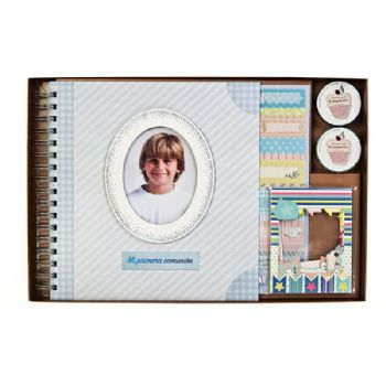 Scrapbook album First Communion classic Boy