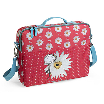 serviette laptop