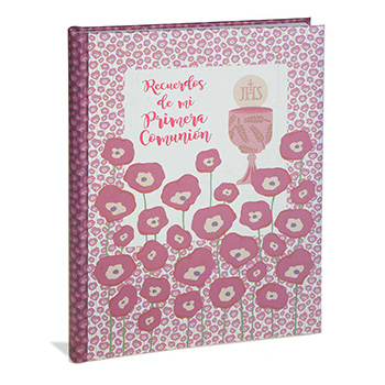 stationery scrapbook first communion spanish communion book