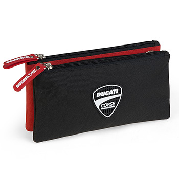 triple pencil case