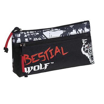 trousse double bestial wolf