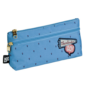 Trousse double zip
