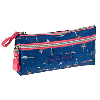 Trousse duuble zip