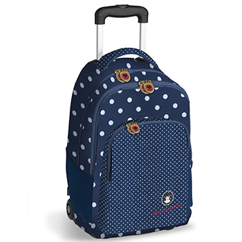 wheeled double backpack dolores promesas