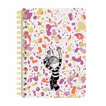 wiro notebook a5 120 page